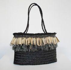 Kura Gallery Maori New Zealand Weaving Raranga Kete Jess Paraone