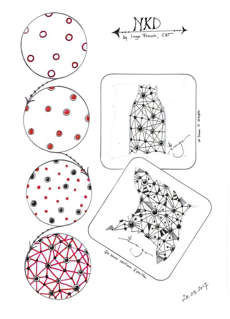 Tangles / Muster erstellt von Inge – musterspiele.jimd …
