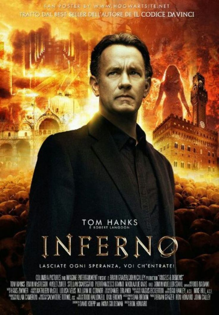 inferno 2016 film poster
