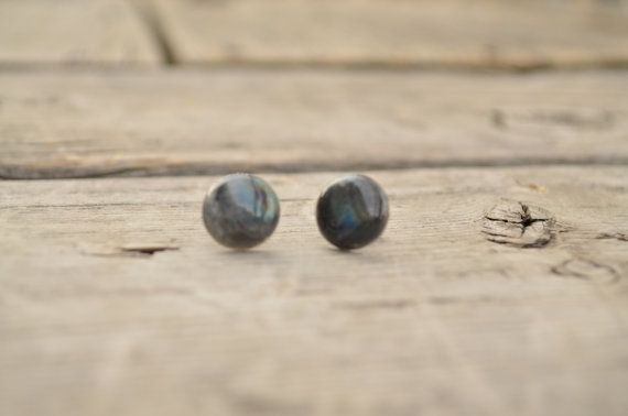 Genuine Newfoundland LABRADORITE Earings e30 on Etsy, $22.00 CAD