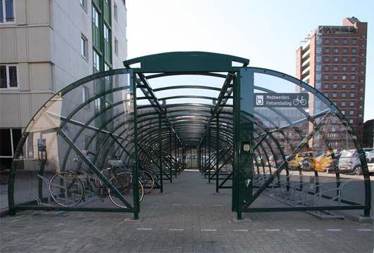 Afsluitbare fietsenstalling voor Bronovo ziekenhuis