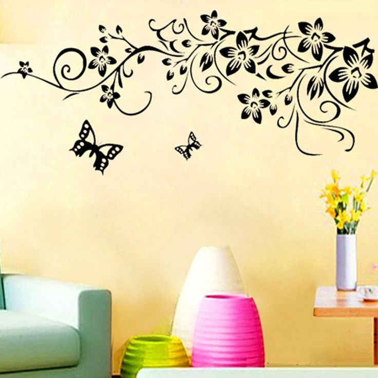 Classic Blossom Flower Removable Wall Decal – GetheBuzz