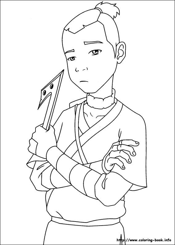 87 best lineart avatar last airbender images on pinterest for Avatar the last airbender coloring pages toph
