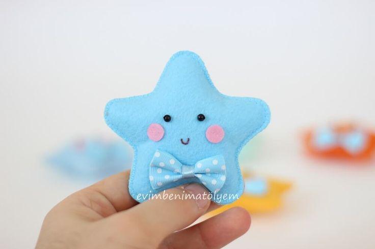 keçe yıldız bebek şekeri