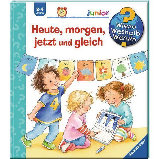 Ravensburger Junior 32642 Wieso Weshalb Warum Heute Morgen Jetzt Und Gleich Britta Kinderbucher Geschichten Fur Kinder Bilderbucher Fur Kinder