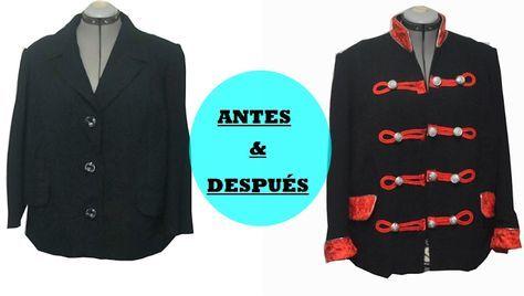Cómo transformar una blazer en una chaqueta militar   Diy & glam