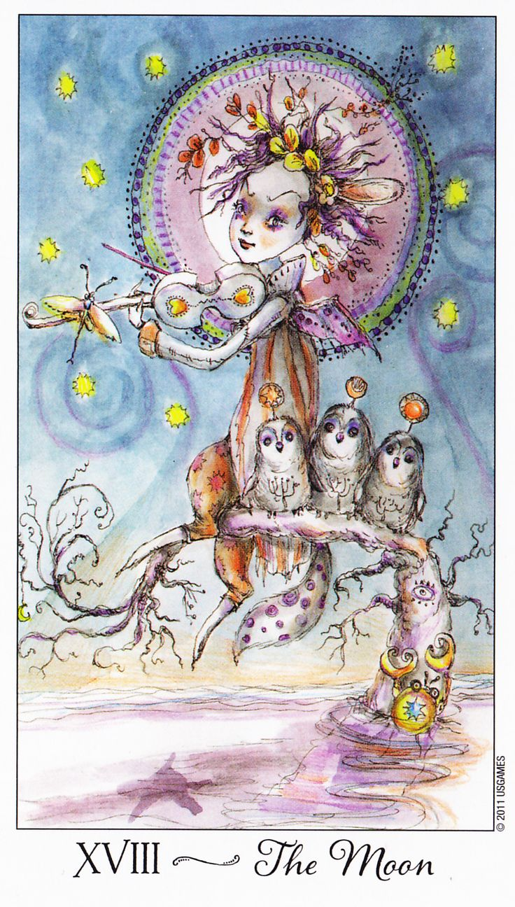 Joie de Vivre Tarot, US Games 2011   As soon as I turned this card over today I heard Jiminy Cricket singing 'Wish Upon a Star':    When y...