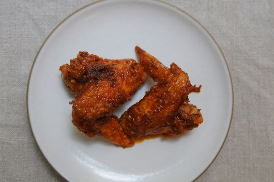 Dip Included Buffalo Wings, a recipe on Food52