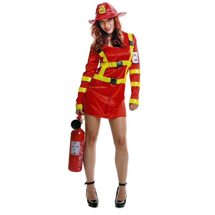 Déguisement Pompier Femme #déguisementsadultes #costumespouradultes