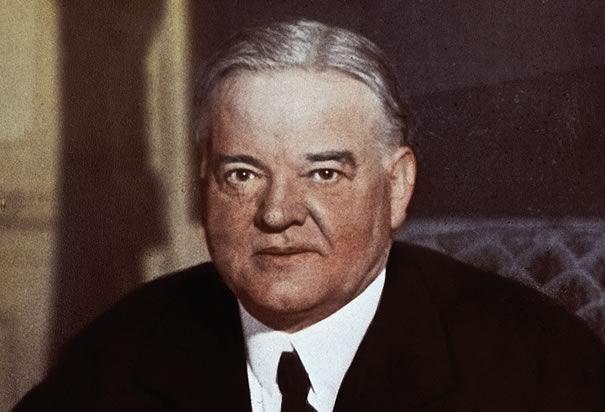 Herbert Hoover: Herbert Hoover was born on August 10, 1874 in West Branch, Iowa