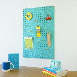 Pegboard 40 x 61 cm blue