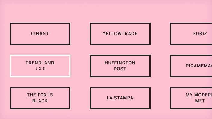 The Best Typography-Based Sites of July 2014 | Elena Mora