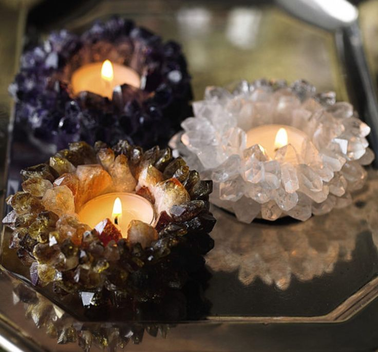 Learn how to grow crystals at home in a jar quickly and easily. They make fabulous candle holders and we have a video tutorial to show you how.