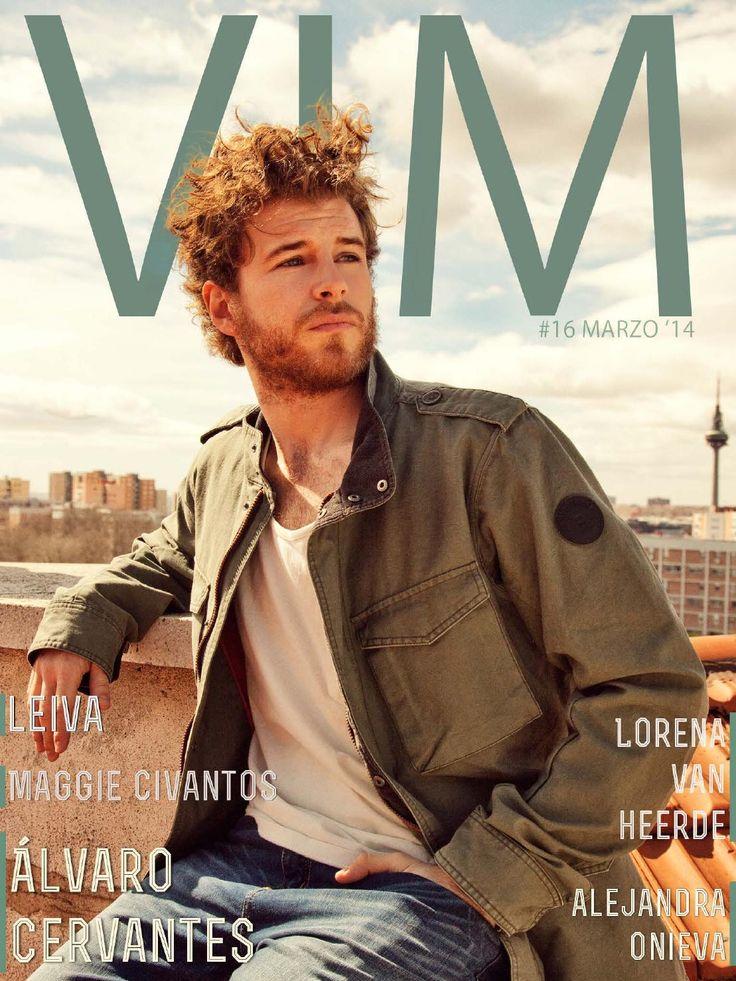 VIM Magazine - Marzo #16  Ya está online el número de Marzo de VIM Magazine con Álvaro Cervantes en portada.