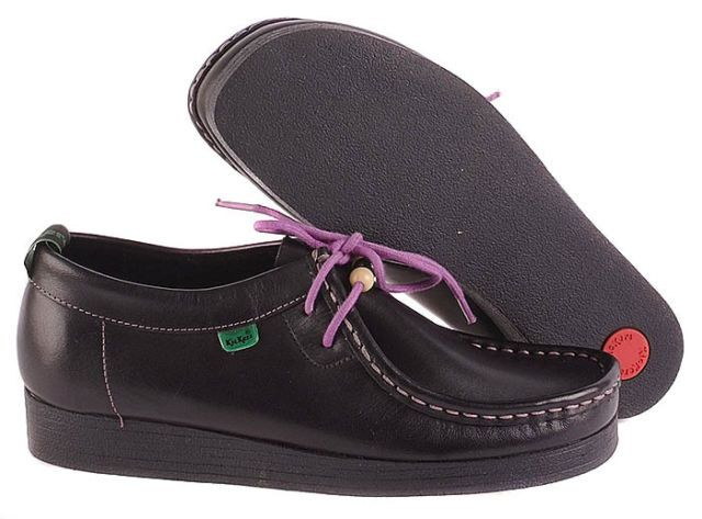 S Old School Shoes Kickers Blue Girls