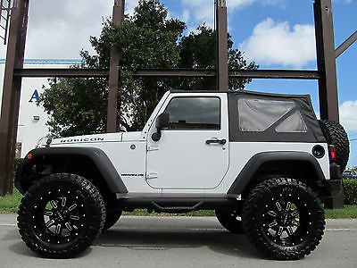 "Jeep : Wrangler $20,000 IN UPGRADES 2 DOOR CONVERTIBLE - 35"" TIRES - LED'S - SUPER WINCH"