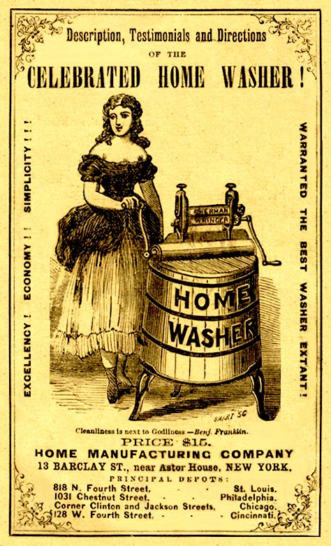 vintage washer ad