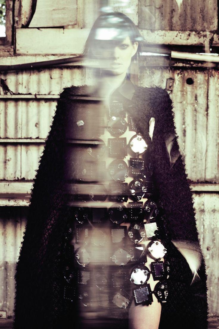 Time's Winged Chariot | Patricia van der Vliet | Serge LeBlon #photography | Garage Magazine