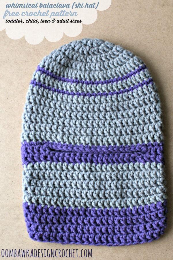 Child Teen Adult Whimsical Balaclava Crochet Hats Pinterest