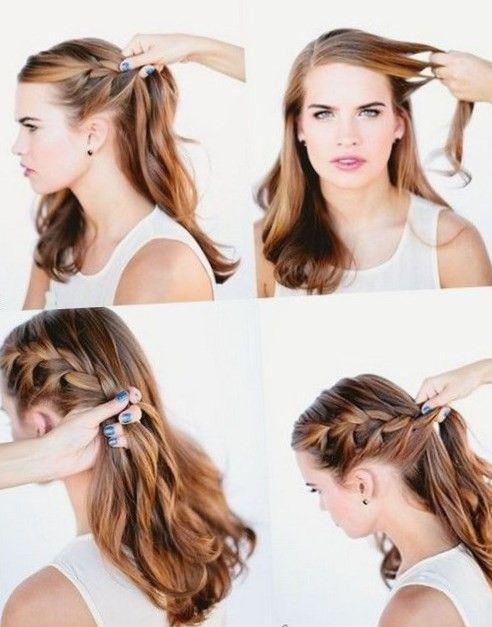 Schöne Frisuren Für Lange Haare Zum Selber Machen 2017 Https
