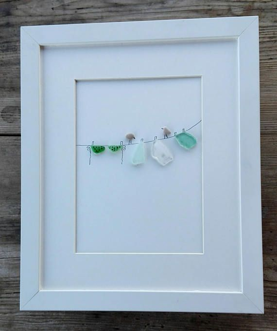 Cute Diy Home Decor Ideas: 108 Best Images About Seaglass Art On Pinterest