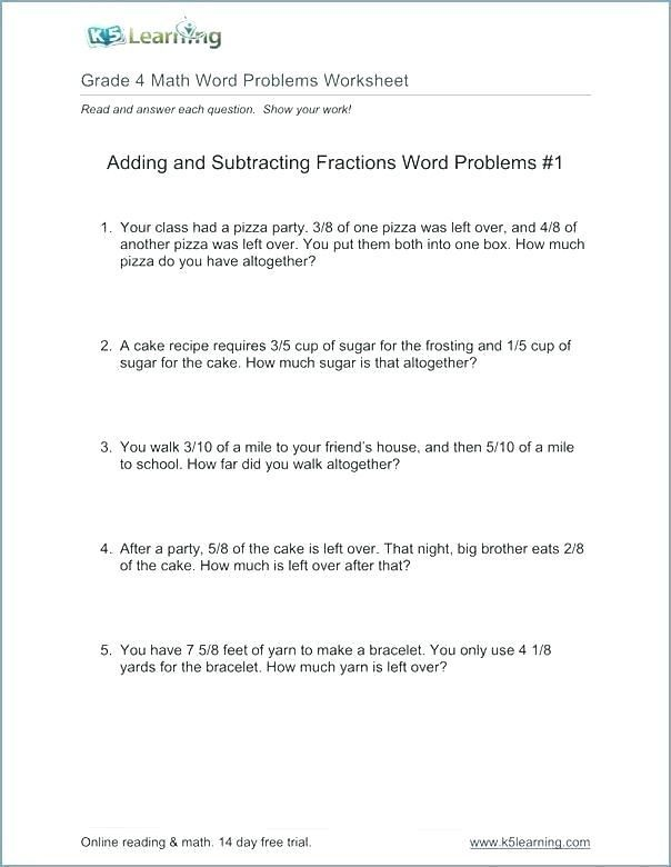 28 Mental Math Worksheets Grade 4 Pdf Accounting Invoice Word Problem Worksheets Fraction Word Problems Math Word Problems