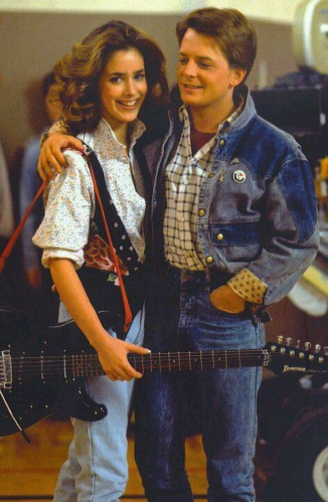 ... guitar 80s ... Jennifer Parker Back To The Future Costume