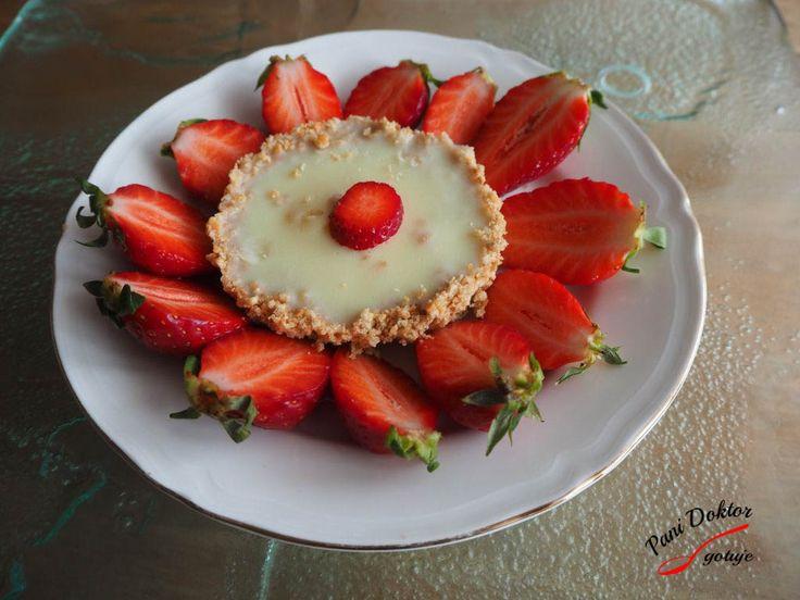 Tartaletka z białą czekoladą