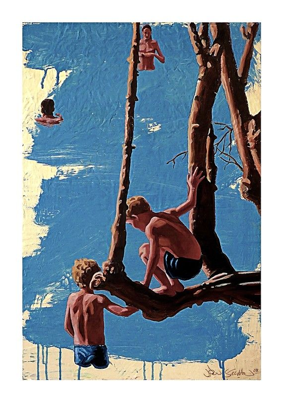 Hey, I found this really awesome Etsy listing at https://www.etsy.com/listing/52261999/the-swimming-tree-giclee-stillman