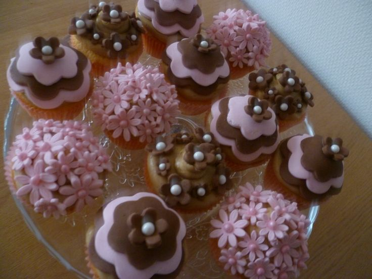 Verzameling cupcakes