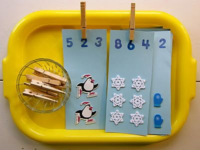 """lots of winter themed preschool activities  @Amy Justine  maybe the """"don't break the ice"""" game for social groups..."""
