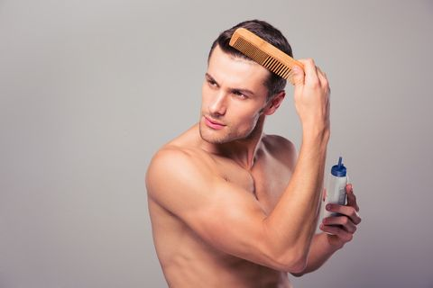 how to stop your hair from falling out male