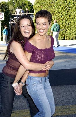Holly Marie Combs  Alyssa Milano (crying forever, miss these girls)