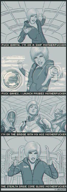 Best thing ever? Pretty damn close! #MassEffect #Shepard #Humor