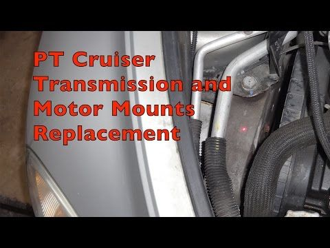 20 Pt Cruiser Transmission And Motor Mounts Replacement Youtube