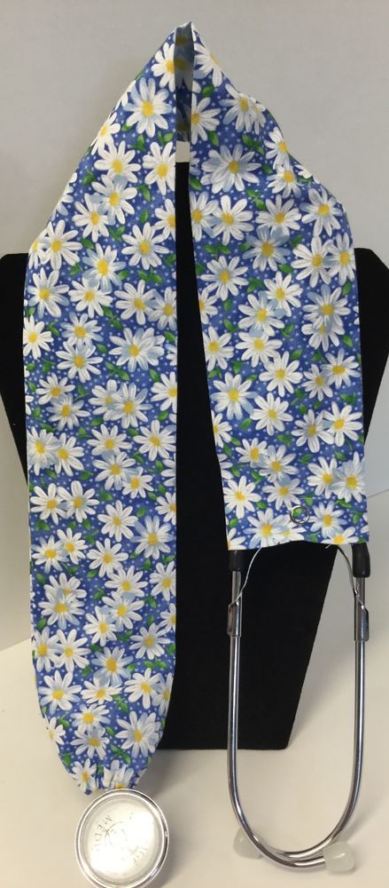 Daisy Print MD RN EMT LPN Stethoscope Cover  Buy 3 GET FREE SHIP US Only #Handmade