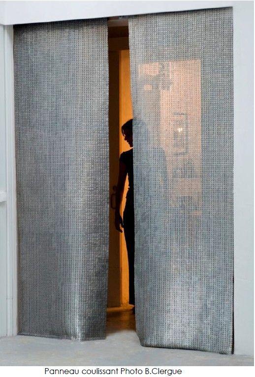 Panneaux et rideaux FOIN® COTTE DE MAILLES distribués par PASSAGE