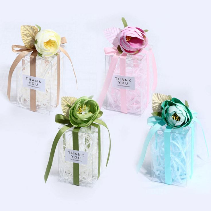28 best gift boxes images on pinterest 50 pcs clear gift boxes spring flower candy boxes diy wedding gifts party negle Gallery