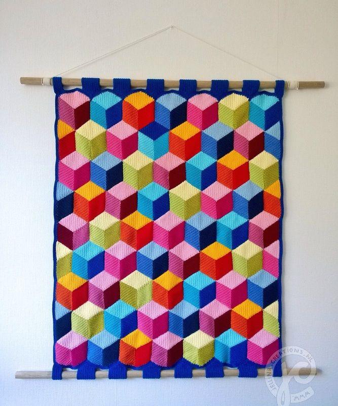 brain teaser blanket free crochet pattern