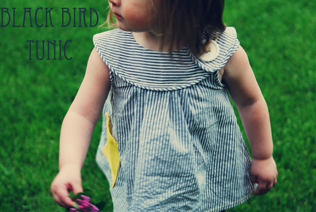 free pattern for darling top    {Shwin: Black Bird...(tunic)}