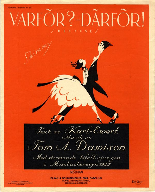 Einar Nerman, from the Images Musicales collection Varför? - Därför! (Why? Because!), 1925