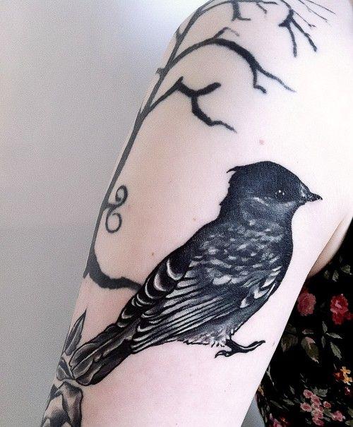 .Bird Tattoos, Birds Tattoo, Art Tattoo, Tattoo Pattern, Little Birds, Tattoo Artists, Trees Tattoo, Tattoo Design, Tattoo Ink