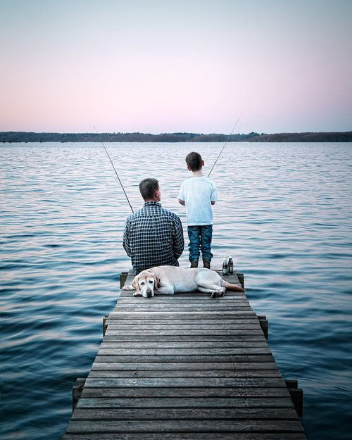 Fishing with Daddy :))