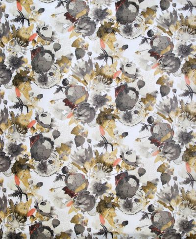 Mairo Anemone print, designed by Tess Jacobson. Available for curtain sewing.