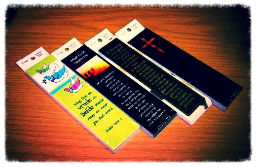Assorted Sunday School Style Bookmarks in packets of 10 now on Sale. Was: R17-00 per packet. NOW ONLY: R12-00 per packet.