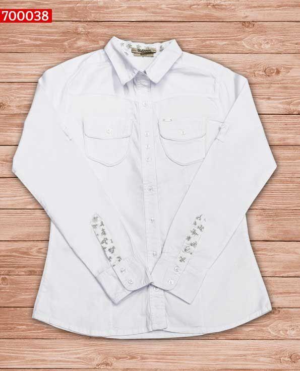 blusa-dama-color blanco-ref-700038- #fashion #women #ropademoda