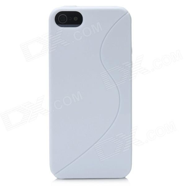 Quantity: 1 Piece; Color: White; Material: TPU; Compatible Models: Iphone 5; Other Features: With wave pattern; Protect your Iphone from scratch scrape dust and shock; Packing List: 1 x Protective case; http://j.mp/1vnYdmR
