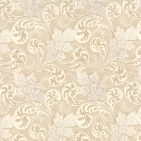 Blue Barn Prints Cream 42271 16 Natural Florals