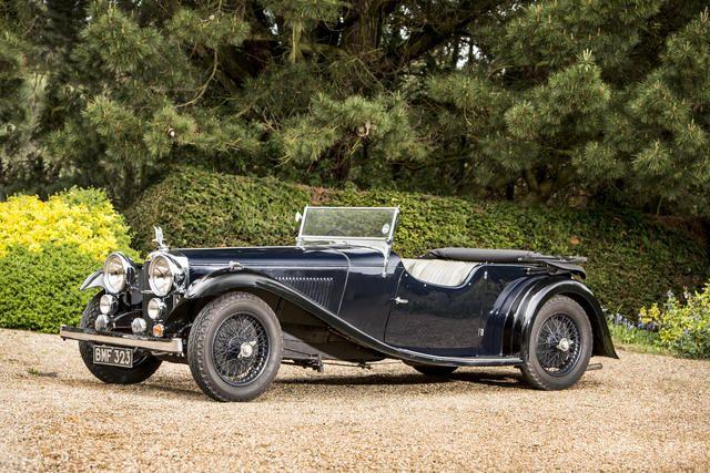 1934 Alvis Speed 20 sold for £80k June 2014 Bonhams