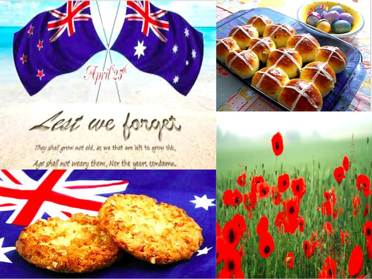 Hey everyone! Happy ANZAC Day! For those of you who don't know what it is, ANZAC stands for Australian and New Zealand Army Corps and it is a very special day commemorating the day the ANZACs landed on Gallipoli, Turkey 101 years ago.